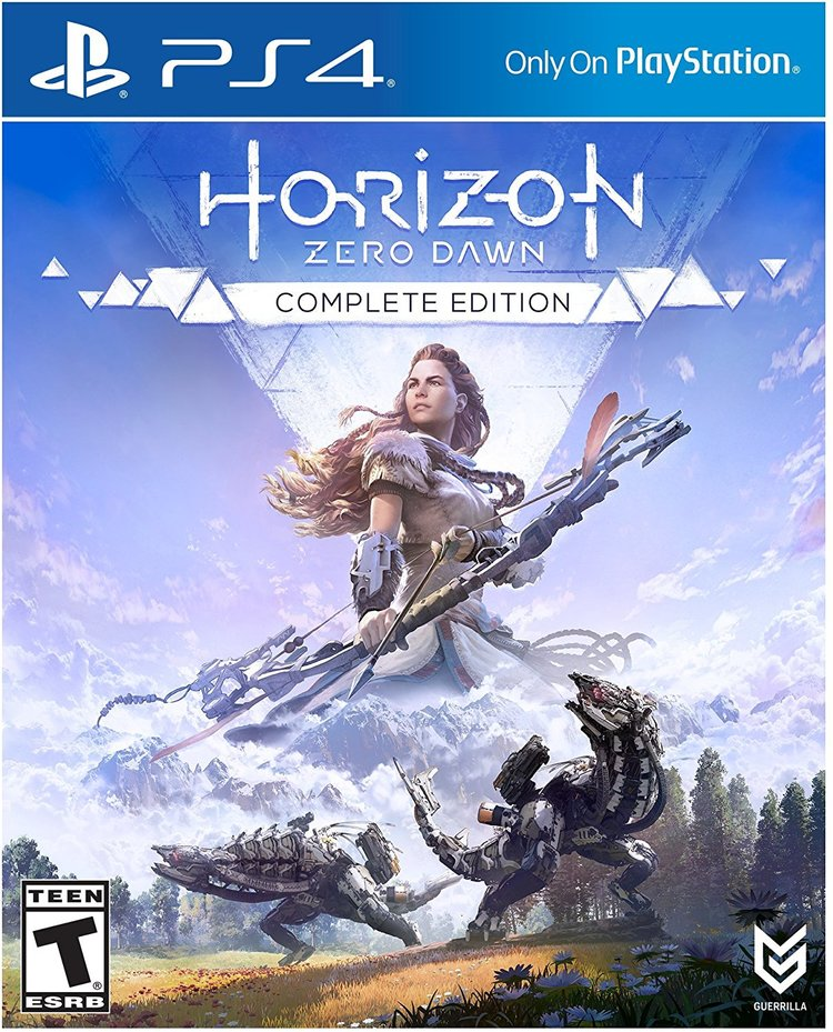 Игра PS4 Horizon Zero Dawn. Complete Edition (русская версия)