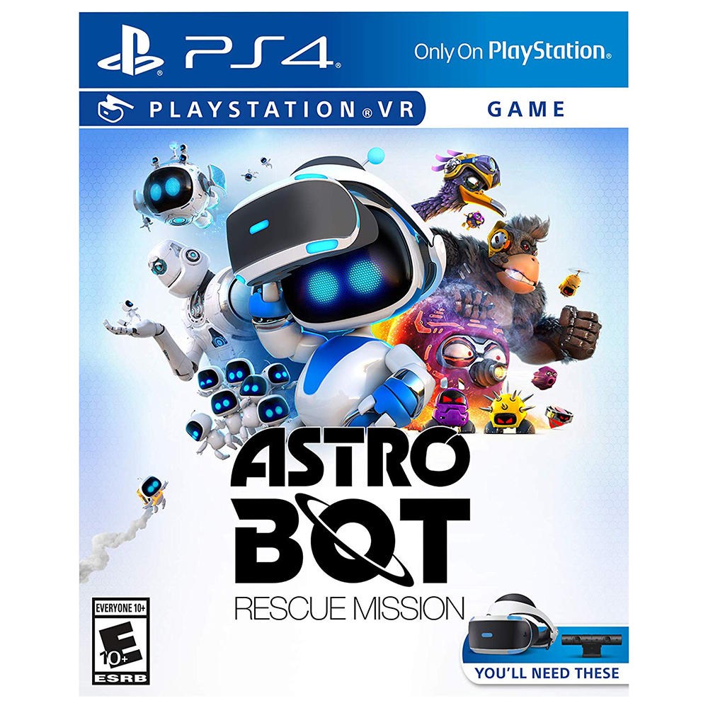Игра PlayStation VR ASTRO BOT Rescue Mission (русская версия)