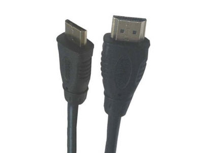 Кабель UltraCable HDMI-miniHDMI 2m черный