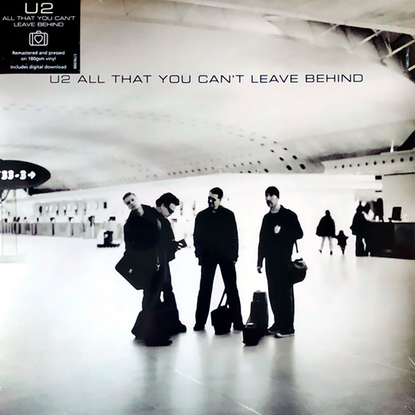 Виниловый альбом U2 - All That You Can't Leave Behind (2000), Rock фото