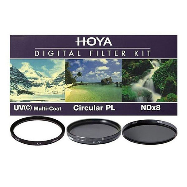 Комплект HOYA Digital Filter Kit II UV (C) HMC MULTI, PL-CIR, NDX8, 49mm фото