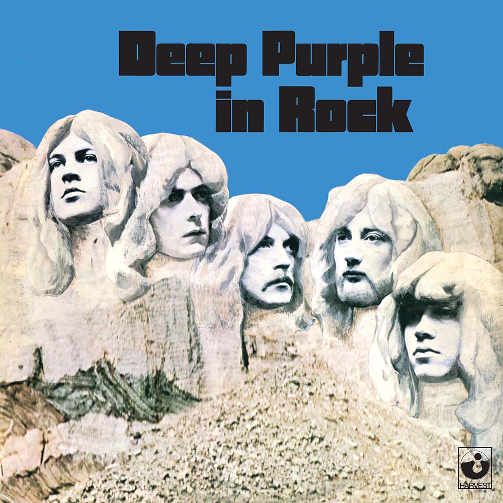Виниловый альбом Deep Purple - Deep Purple In Rock (1970), Rock фото