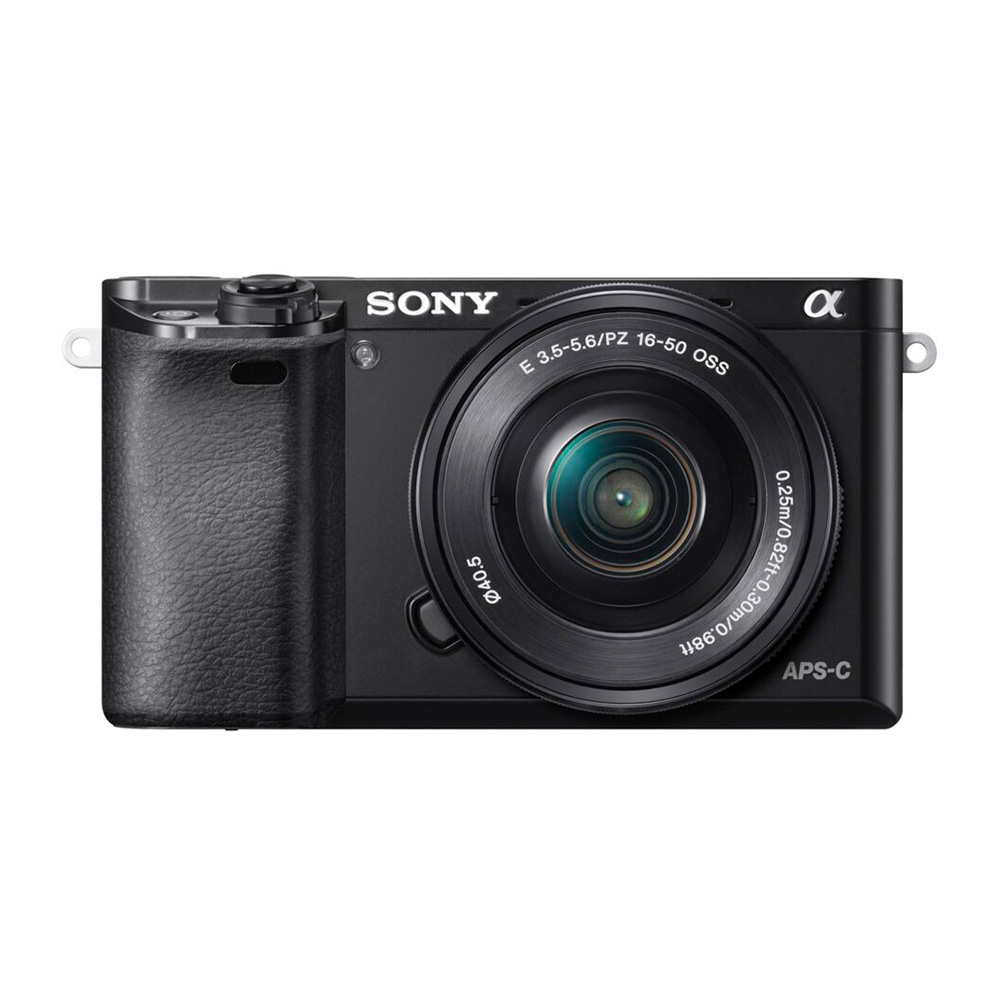 Фотоаппарат Sony Alpha A6000L Kit Black