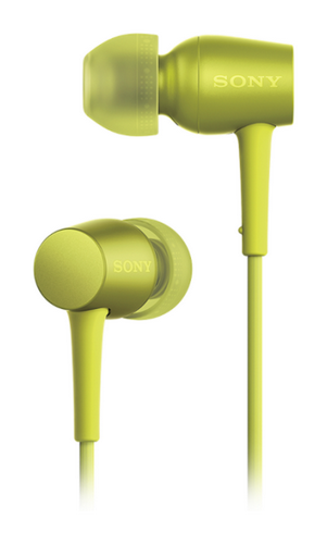 Наушники Sony h.ear in с поддержкой Hi-Res Audio, желтые