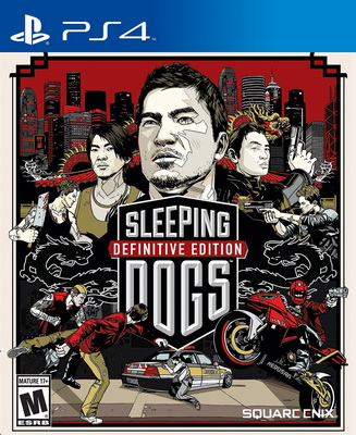 Игра PS4 Sleeping Dogs Definitive Edition