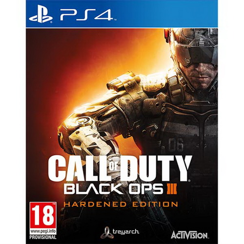 Игра PS4 Call of Duty: Black Ops III. Hardened Edition