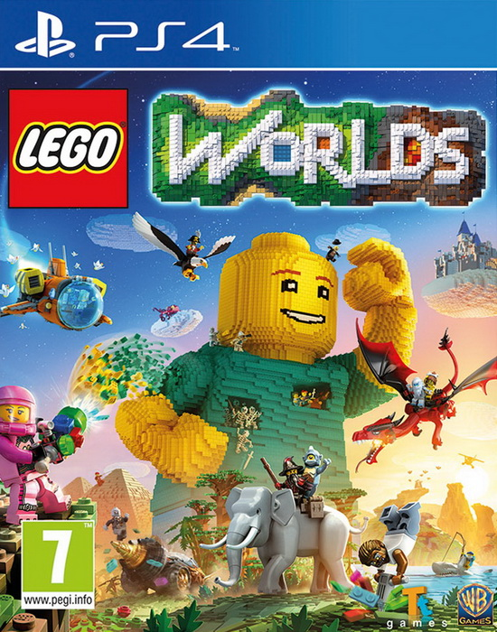 Игра PS4 LEGO Worlds (русская версия)