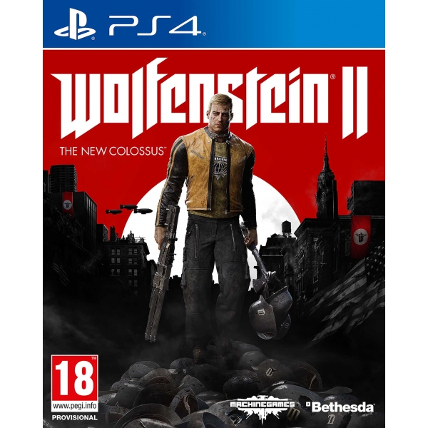 Игра PS4 Wolfenstein II: The New Colossus (русская версия)