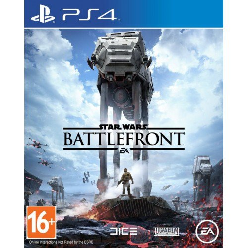 Игра PS4 Star Wars: Battlefront (русская версия)